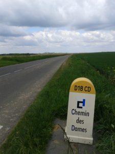 """borne """"Chemin des Dames"""""""