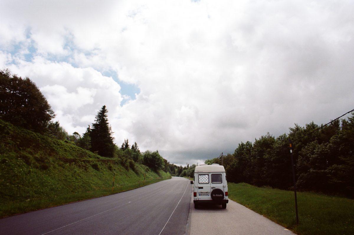Van dans les Vosges