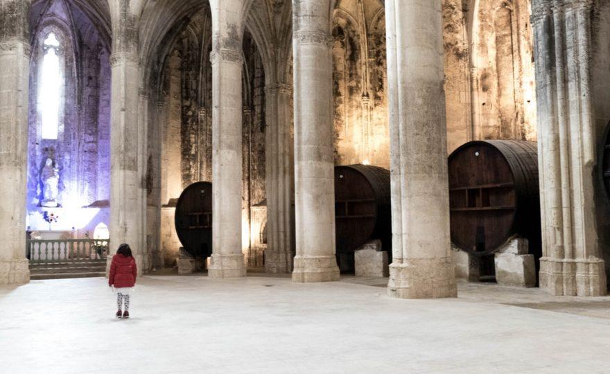 Visite de l'abbaye de Valmagne