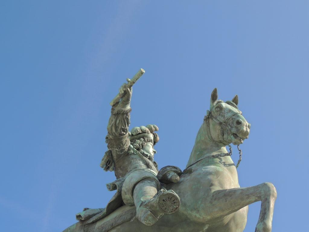 Statue de Louis XIV - Versailles