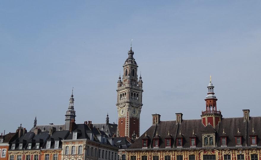 La Grand Place au cœur de la ville de Lille