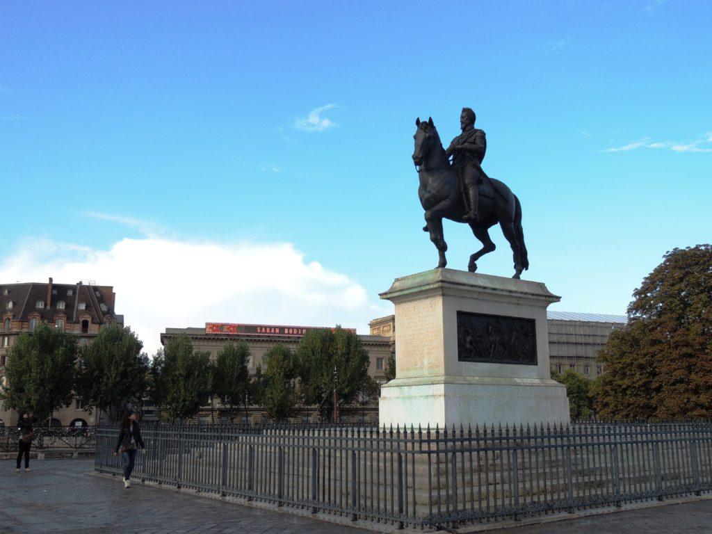 Statue de Henri IV Pont Neuf (1)