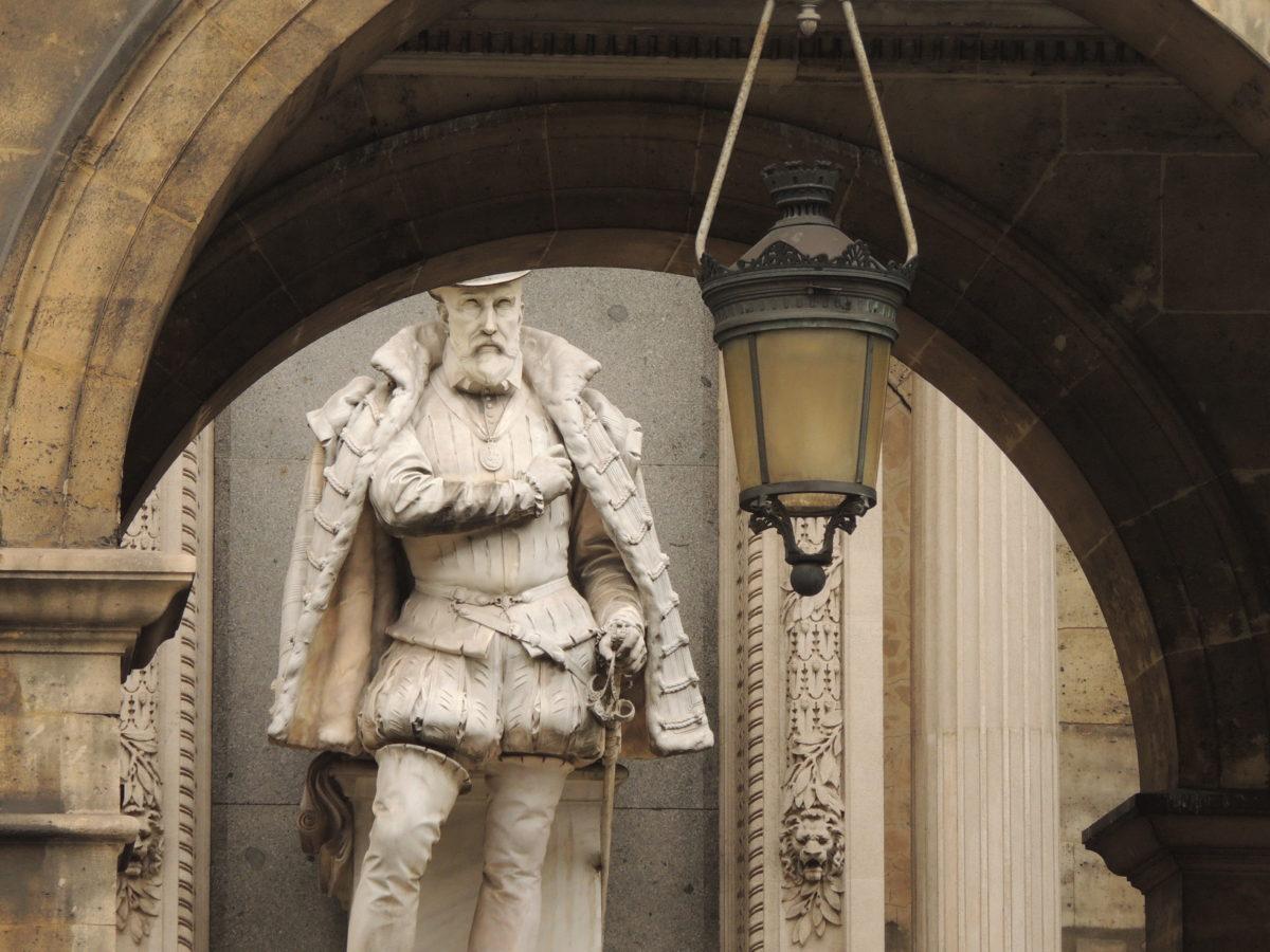 Statue de l'amiral de Coliny