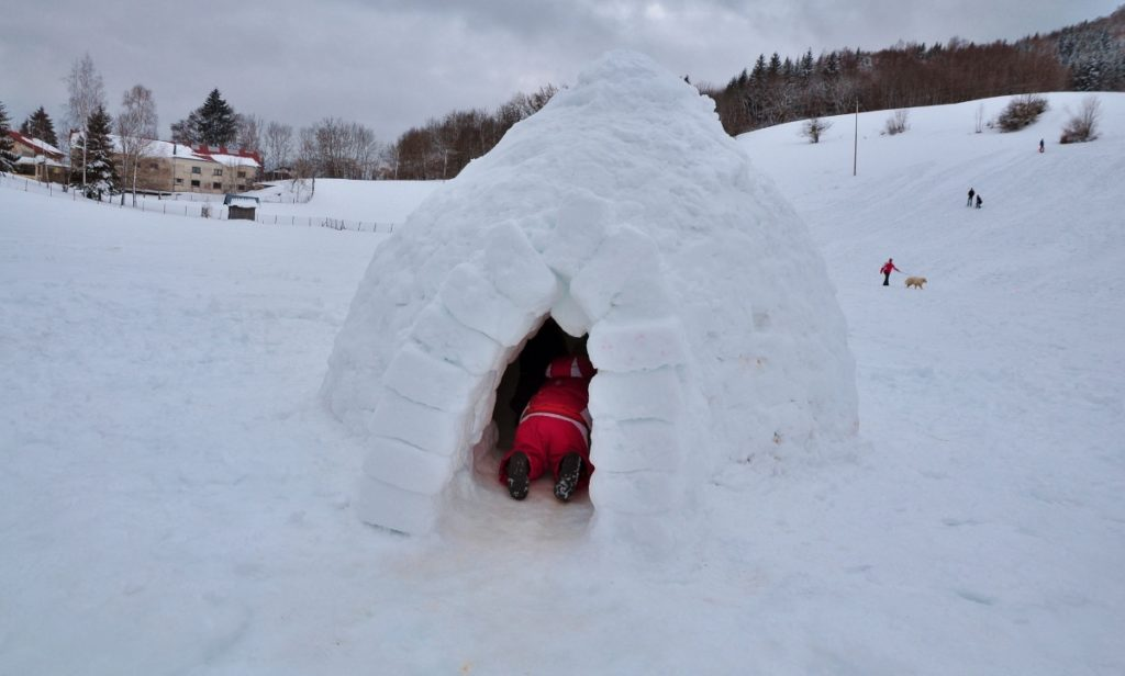 igloo en Savoie
