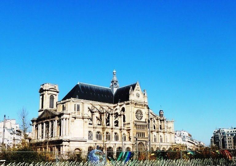 Saint-Eustache, la cathédrale des Halles