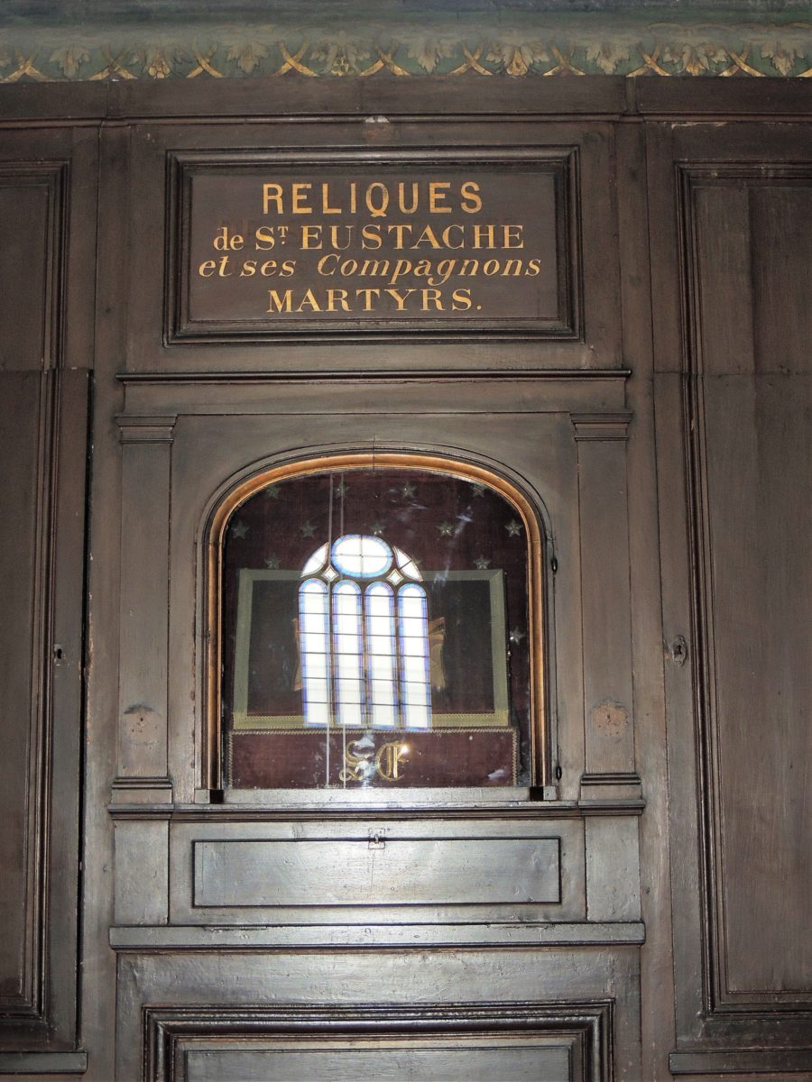 Saint Eustache Reliques de Saint-Eustache