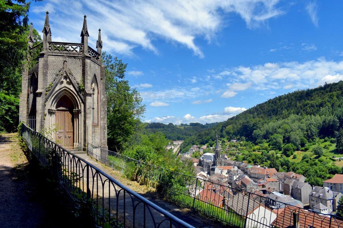 Vue à Plombieres-les-Bains
