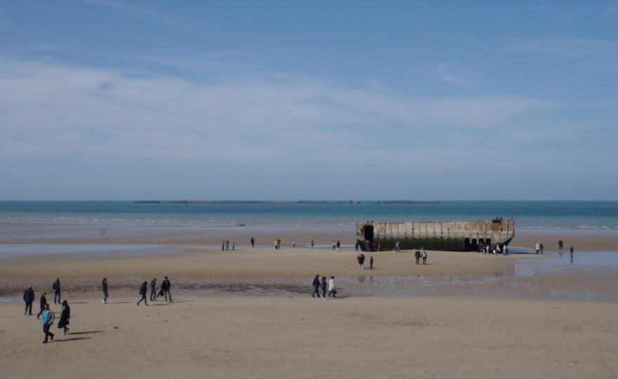 Les plages du débarquement de Normandie