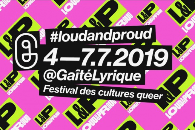 affiche festival loud and proud