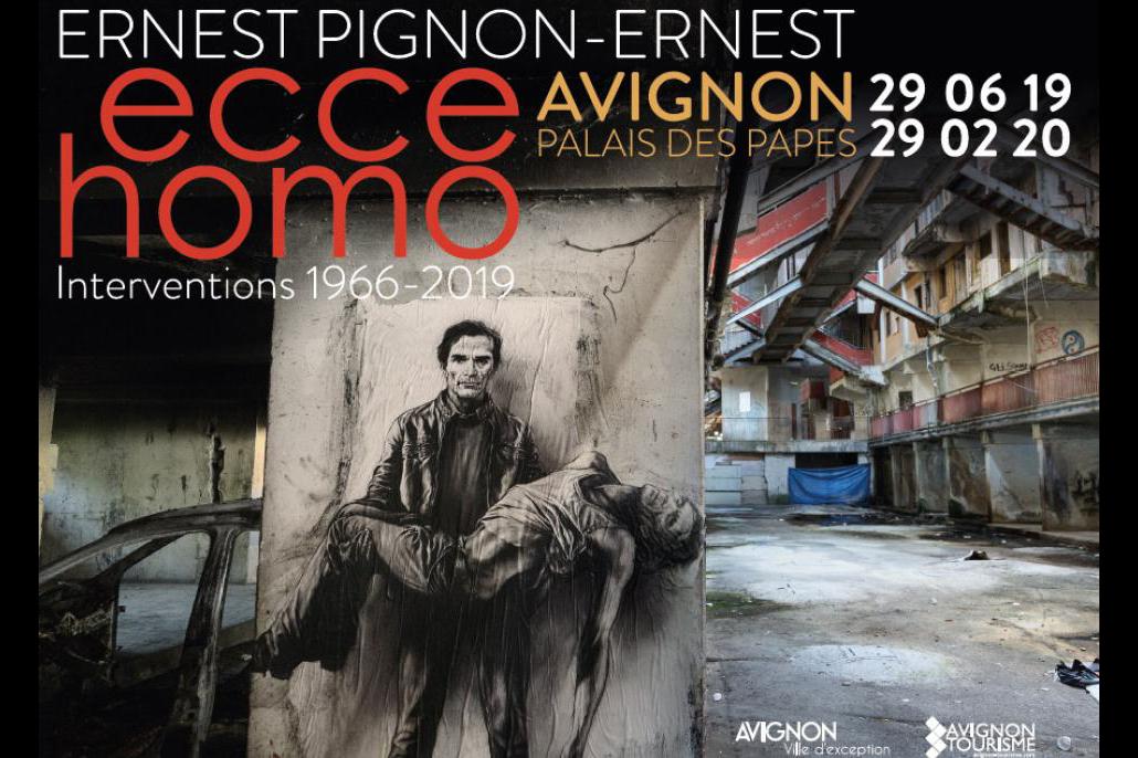 Exposition ecce homo - Ernest Pignon Ernest