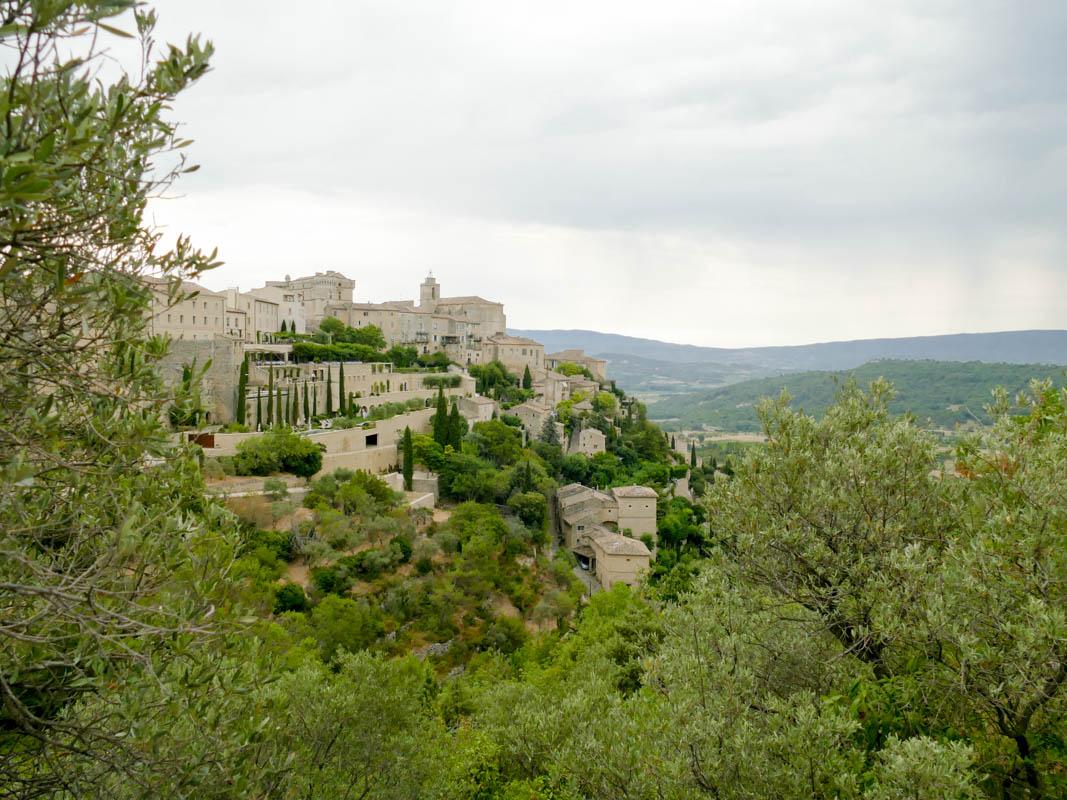 Vue de Gordes - Luberon