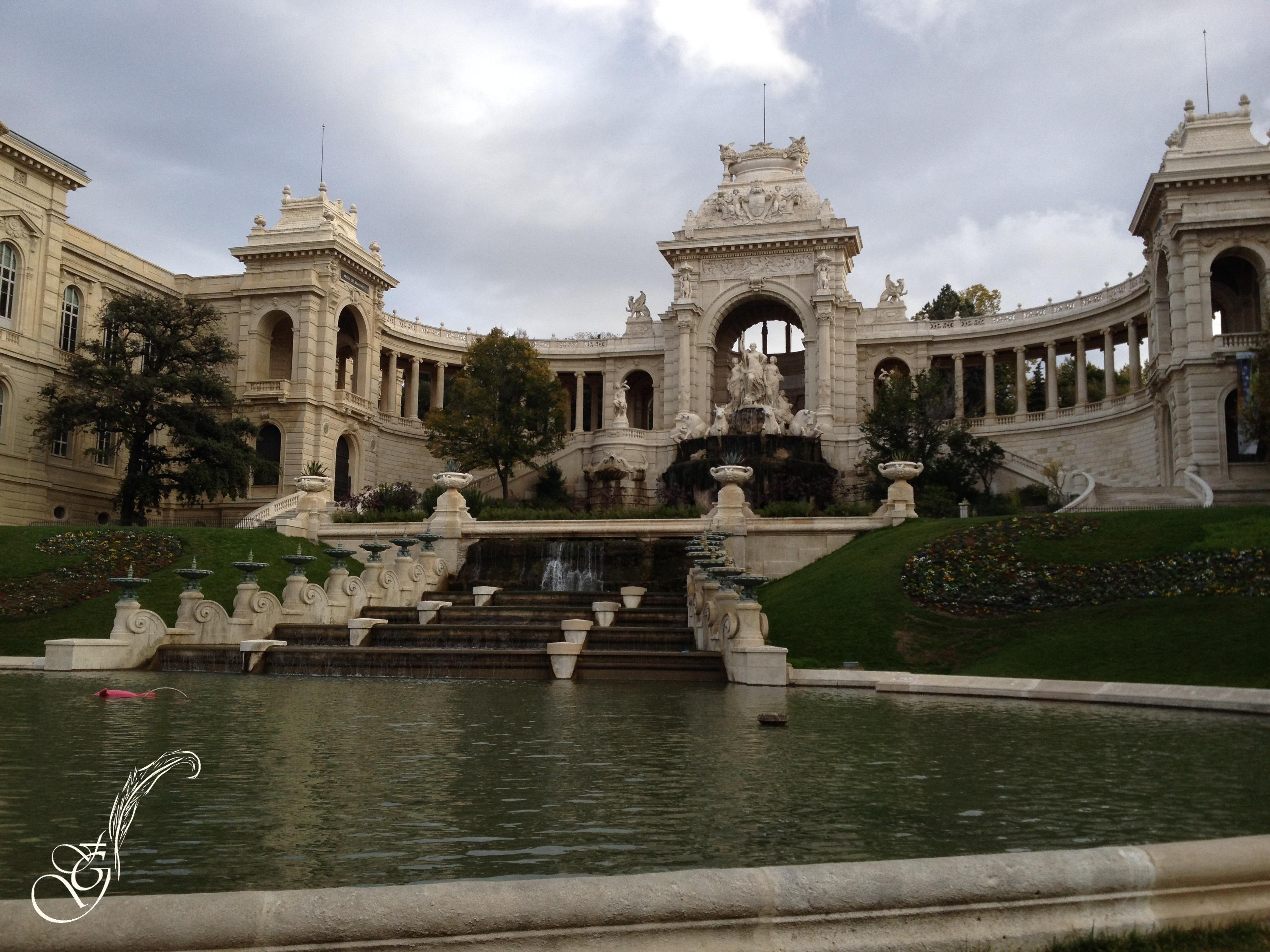 Fontaine à Marseille